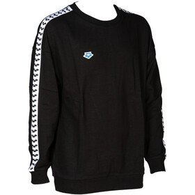 arena Sweat Team Oversize Huppari, black/white/black